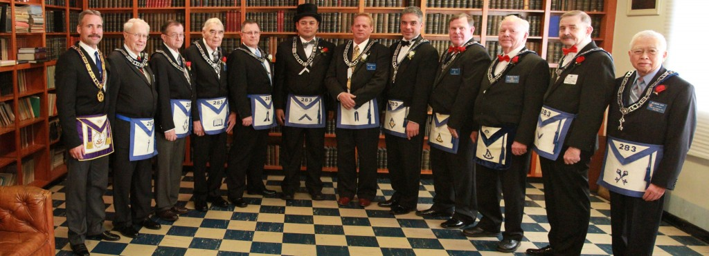 Lodge Officers 2015